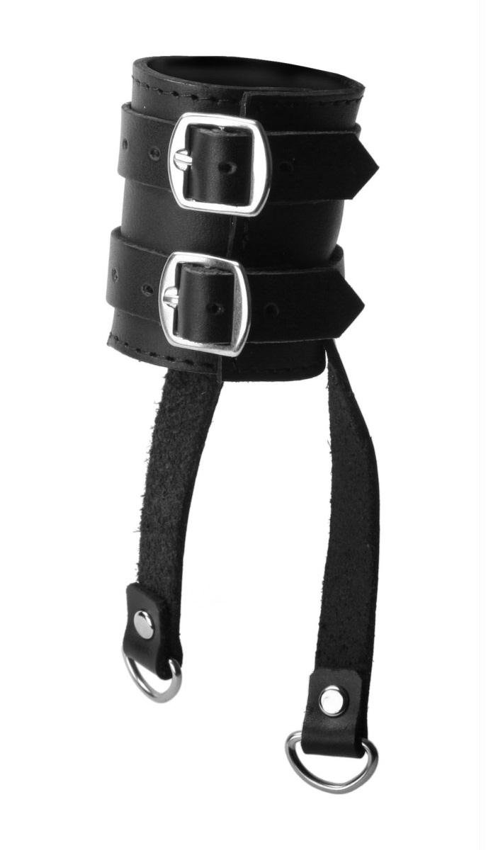 Highly recommended strict leather speed snap cock ring